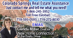 Contact Glenda Miller for information on homes for sale in Colorado Springs