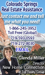 Contact Glenda Miller for Colorado Springs Real Estate Assistance