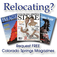 Request FREE Colorado Springs magazines